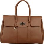 Elegantní kabelka Made in Italia / Modena - oříškově hnědá univerzální