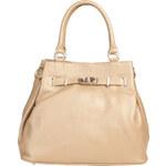 Luxusní kabelka Made in Italia / Verona - světle hnědá univerzální