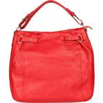 Dámská kožená kabelka Made in Italia / Sassari - červená univerzální