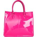 Dámská kabelka z lakované kůže Made in Italia / Portofino - růžová univerzální