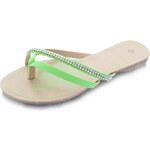 Dámské zelené pantofle Della EUR39