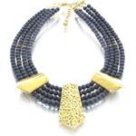 Tmavomodrý náhrdelník Alex