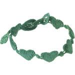 Zelený náramek Hearts