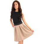 Béžová sukňa MOE 012 S/M
