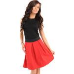 Červená sukně MOE 012 S/M