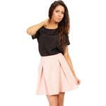 Růžová sukně MOE 022 XS