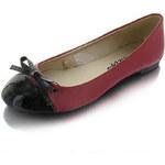 Černočervené balerínky Raquel EUR36
