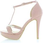 Ružové sandále Holly 36