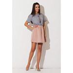 Ružová sukňa K146 S