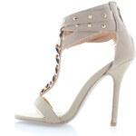 Béžové sandály Simone EUR39