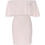 Smetanové šaty Taya XL