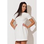 Bílé šaty K147 S