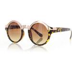 Leopardí sluneční brýle Poppy