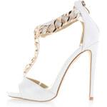 Biele sandále Zanni 36