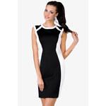 Černo-bílé šaty Alabamma M