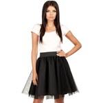 Černá sukně MOE 084 S/M