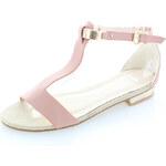 Ružové sandále Fanny 36