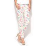 Květované kalhoty K186 L