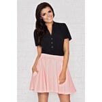 Růžová sukně M008 L