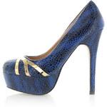Modré lodičky Palett EUR39