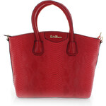 Červená kabelka Safe
