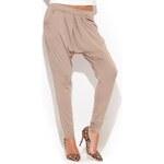 Béžové nohavice K193 M