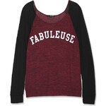 "Tally Weijl Grey ""Fabuleuse"" Knitted Top"