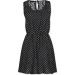 Tally Weijl Black Polka Dot Skater Dress