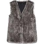 Tally Weijl Brown Soft Faux Fur Gilet