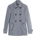 Tally Weijl Grey 6-Button Trench Coat