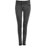 Tally Weijl Dark Grey Acid Wash Skinny Jeans
