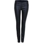 Tally Weijl Black Coated Skinny Pants