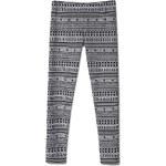 Tally Weijl Grey & Black Aztec Print Leggings