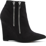 Tally Weijl Black Wedge Ankle Boots