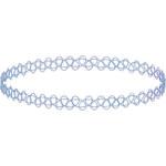 Tally Weijl Blue Tattoo Choker Necklace