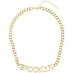"""Tally Weijl Gold """"Brooklyn"""" Chain Necklace"""