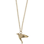 Tally Weijl Gold Necklace with Bird