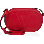 Valentino Leather Re-Edition Crossbody Bag in Red