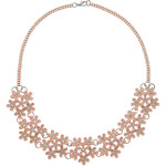 Tally Weijl Pink Short Floral Necklace