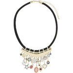 Tally Weijl Black Short Necklace with Charms
