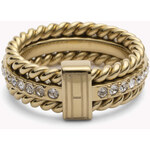 Tommy Hilfiger Rope & Stone Ring
