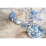 My Astre Náhrdelník Modrý talisman