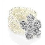My Astre Náramek Perlová květina