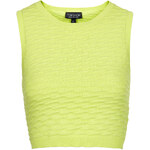 Topshop Wave Stitch Shell Top
