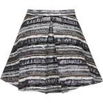 Topshop **Gaby Lurex Skirt by Jovonna