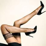 CHANGE Lingerie Samodržící punčochy s krajkou CHANGE 20 DEN tělové
