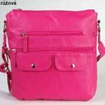 I-Moda Dívčí růžová kabelka