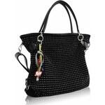 L&S Fashion (Anglie) Kabelka LS8001 černá