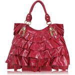 L&S Fashion (Anglie) Kabelka LS0012 červená