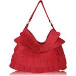 L&S Fashion (Anglie) Kabelka LS00236 červená